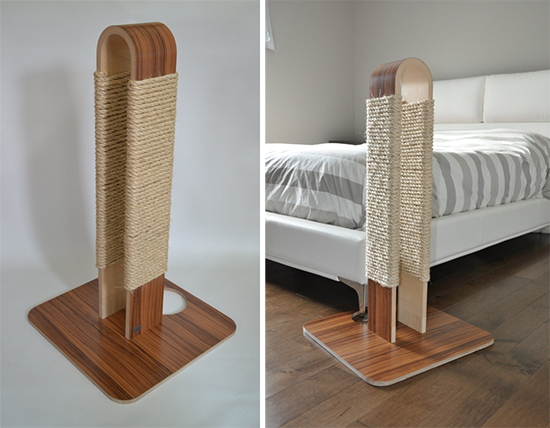 New Modern Scratching Post From Huve