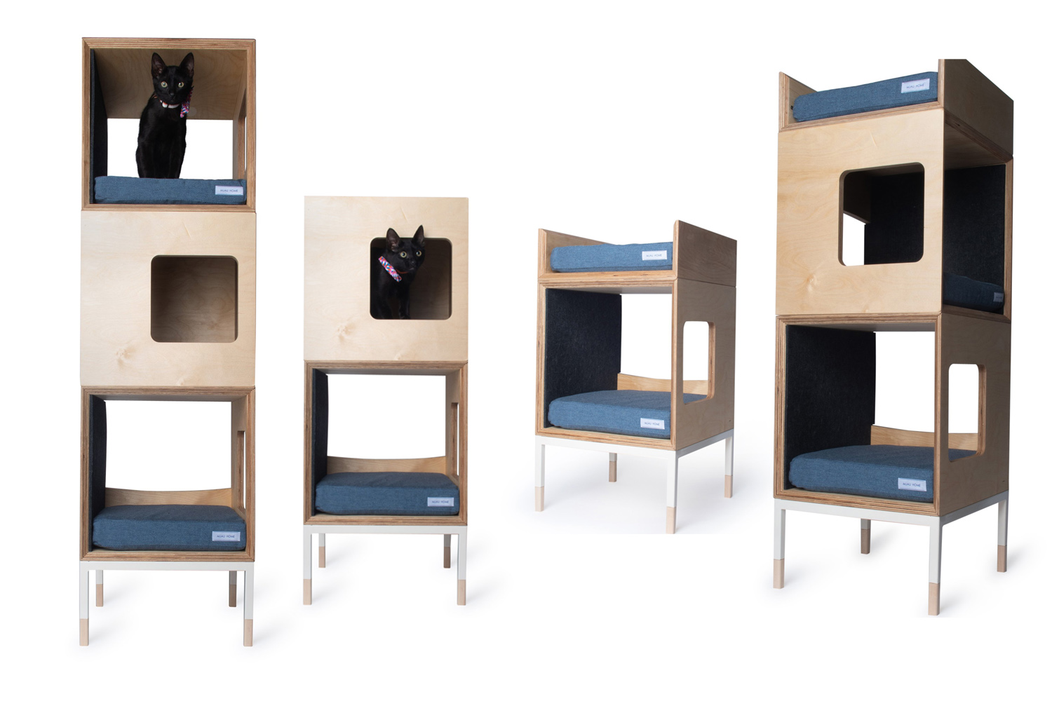 Modern Minimal Cat Furniture Towers Trees